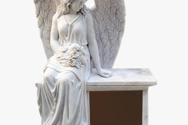 Детские памятники с ангелочками